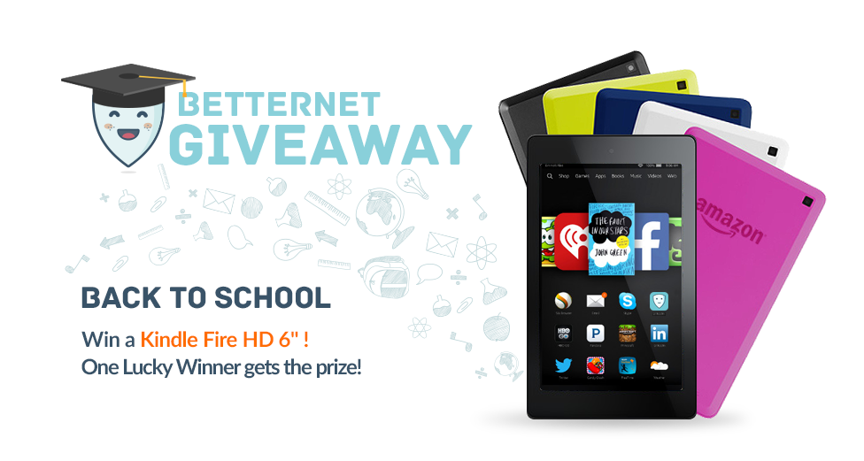 "Betternet ""Back to School"" Giveaway!"