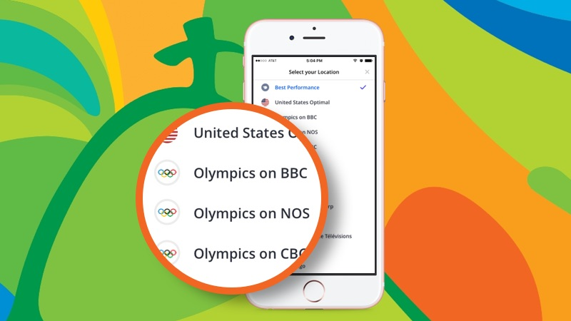 Watch Rio Olympics 2016 Games live with Betternet VPN